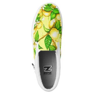 Lemon Sleep on Shoes on yellow