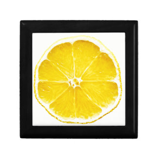 Lemon Slice Jewellery/Gift Box