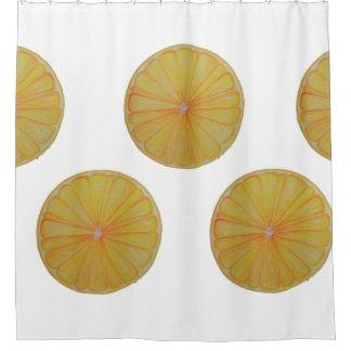 Lemon Slice Shower Curtain