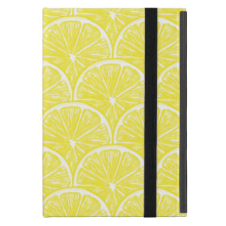 Lemon slices cover for iPad mini