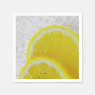 Lemon Slices Fresh Fruit Paper Napkin
