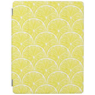 Lemon slices iPad cover