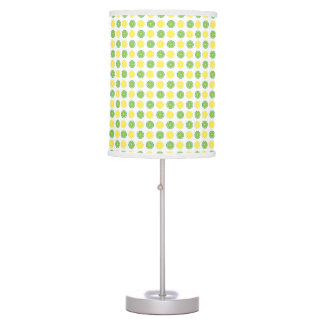 Lemon Slices Lime Slices Citrus Fruit Table Lamp