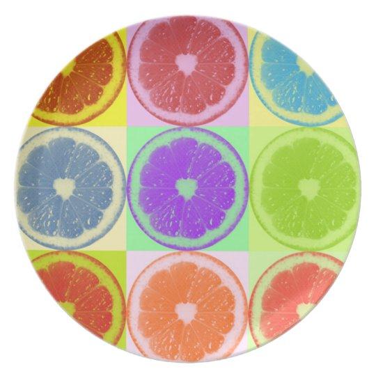 Lemon Slices Plate