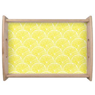 Lemon slices serving tray