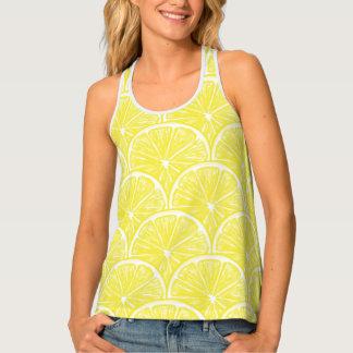 Lemon slices tank top