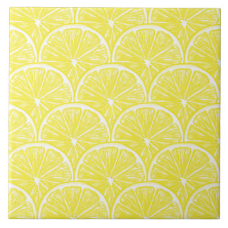 Lemon slices tile