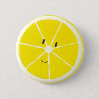 Lemon smiling | Button