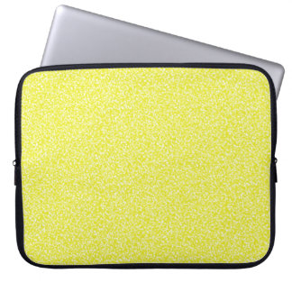 Lemon Speckled Laptop Sleeves