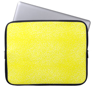 Lemon Speckled Sangria Laptop Sleeve