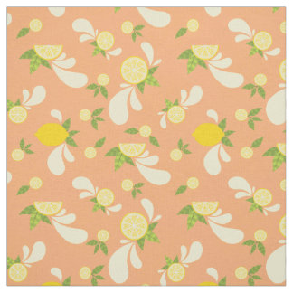 Lemon Splash Fabric