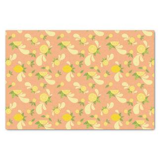 Lemon Splash Tissue Paper