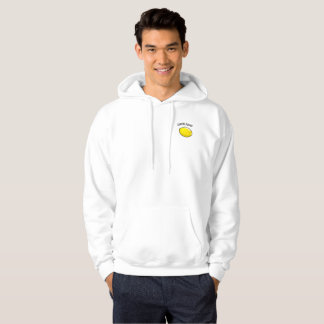 Lemon squads hoodie for males.