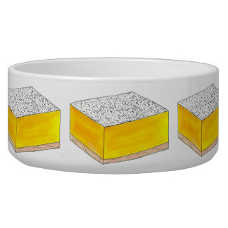 Lemon Square Bar Pastry Dessert Bake Sale Yellow