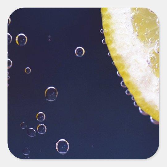 Lemon Square Sticker
