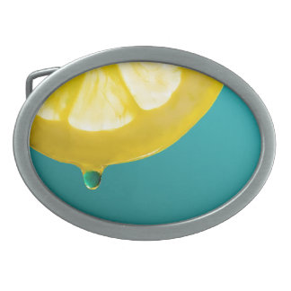 Lemon Squeeze Belt Buckles