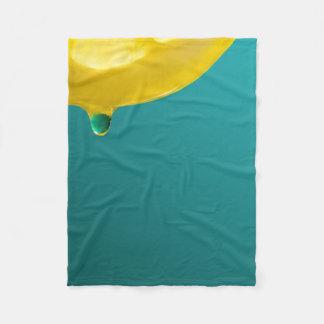 Lemon Squeeze Fleece Blanket