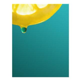 Lemon Squeeze Letterhead