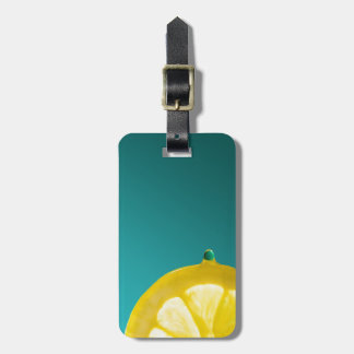 Lemon Squeeze Luggage Tag