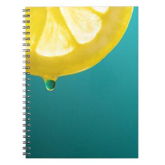 Lemon Squeeze Notebook