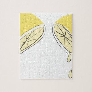 Lemon Squeezed Jigsaw Puzzle