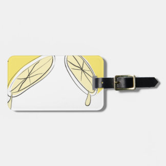 Lemon Squeezed Luggage Tag