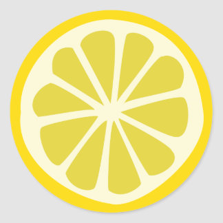 Lemon Squeezy Classic Round Sticker