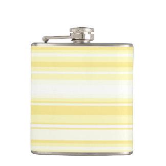 Lemon stripes flask
