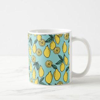 Lemon / Summer Fruit Citrus Food / Andrea Lauren Coffee Mug