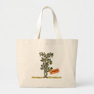 Lemon Tree Jumbo Tote Bag