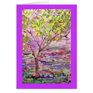 lemon tree card