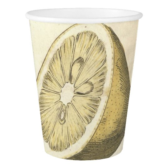 Lemon Tree Paper Cup