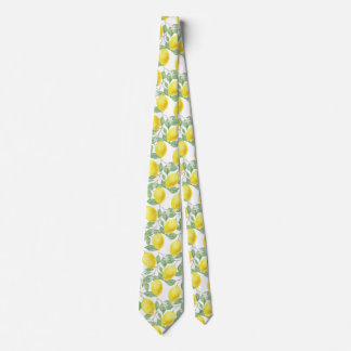 Lemon Tree Pattern Tie