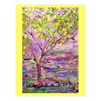 lemon tree postcard