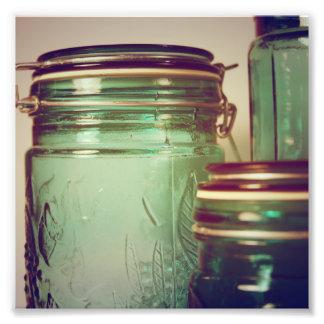 Lemon & Turquoise Photo Print