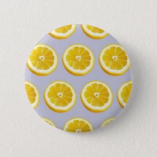Lemon Twist 2 Inch Round Button