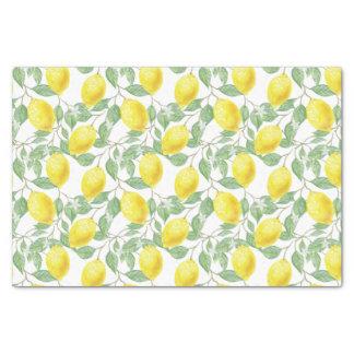 Lemon vine tissue paper