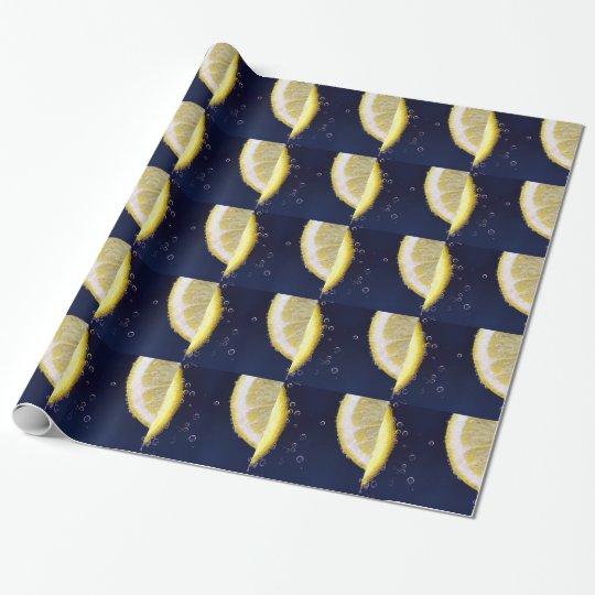 Lemon Wrapping Paper