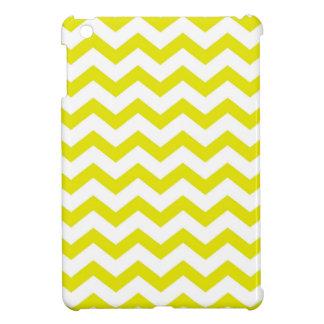 Lemon Yellow Chevrons Case For The iPad Mini