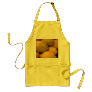 Lemon Yellow Kitchen Apron