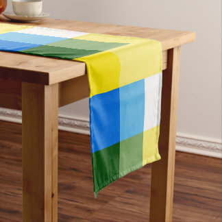 Lemon Yellow Multicolor Table Runner by Janz