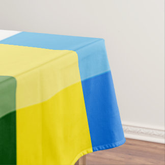 Lemon Yellow Multicolor Tablecloth by Janz