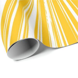 Lemon Yellow Wrapping Paper