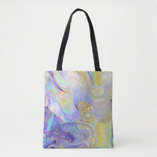 Lemonade Acrylic Pour All Over Tote