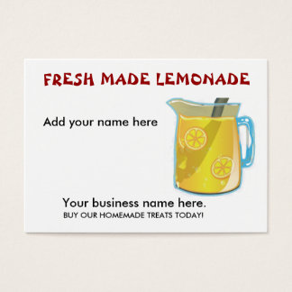 LEMONADE Business Cards