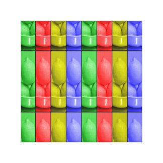 """Lemonade color's12"""" x 12"""", 1.5"""", Single Canvas Print"""