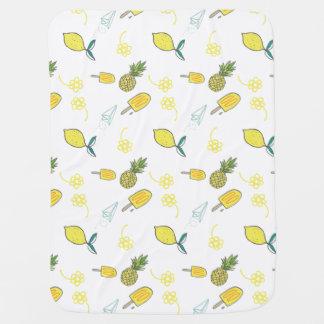 Lemonade Days Blankie Receiving Blankets