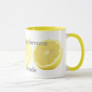 Lemonade - if life gives you lemons mug