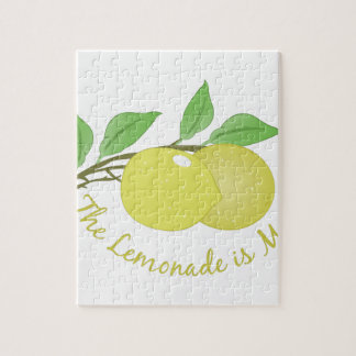 Lemonade Is Made Puzzle