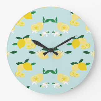 Lemonade Large Clock